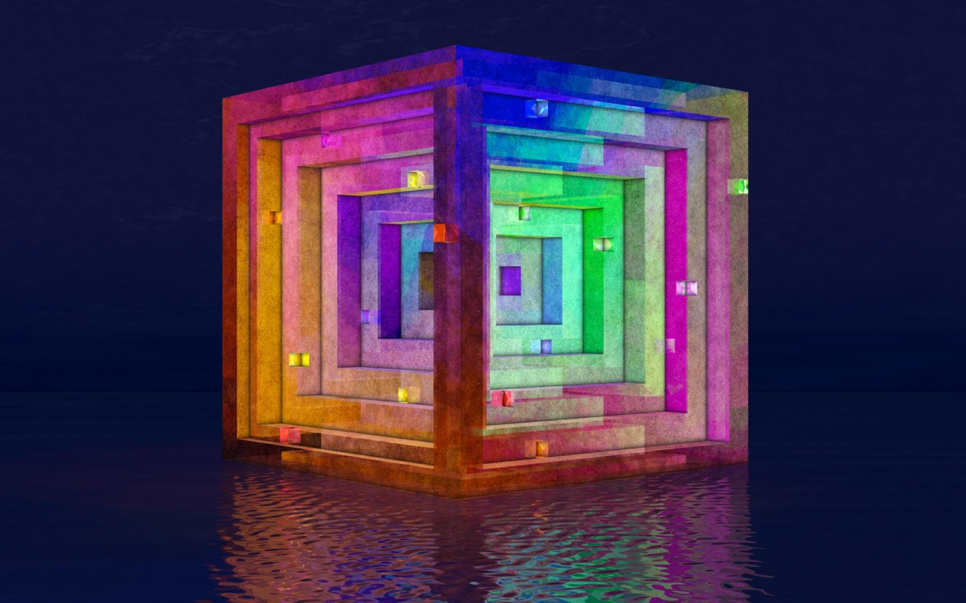 Cube 3d Wallpapers Cool Wallpaper18 1920x1200