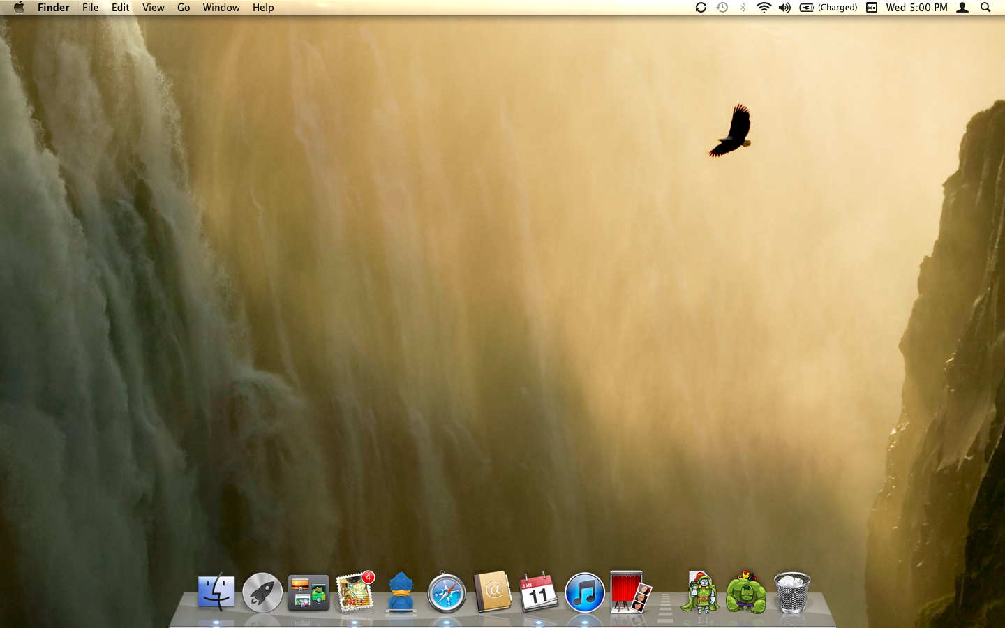 How to Automatically Change Desktop Picture Every Hour in Mac OSX Lion 1440x900