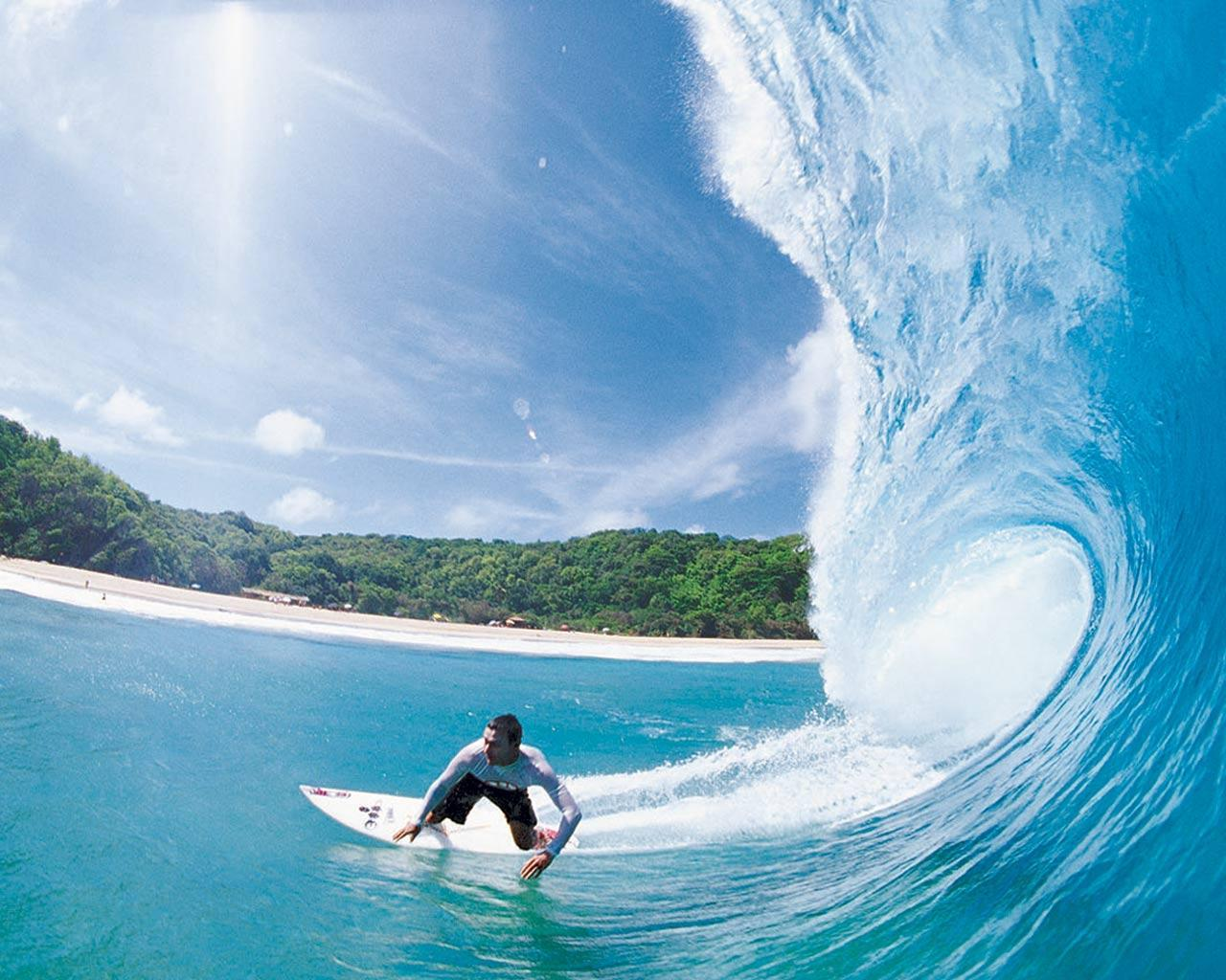 HD Surfing Wallpapers 1280x1024