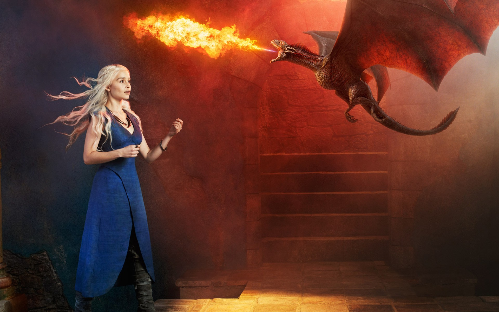 Emilia Clarke Game Of Thrones Daenerys Targaryen   Daenerys 1920x1200