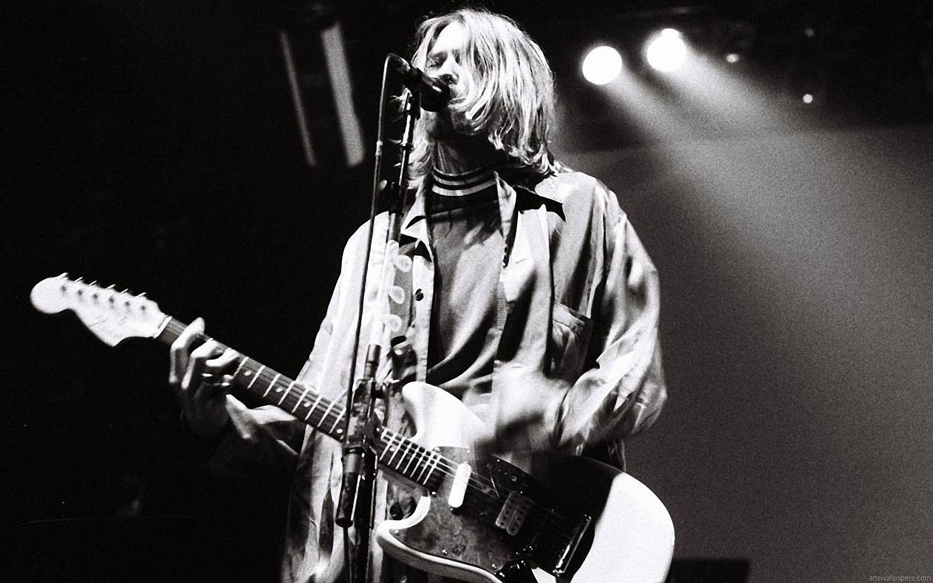 download Kurt Cobain Wallpapers Photos Kurt Cobain Wallpaper 1920x1200