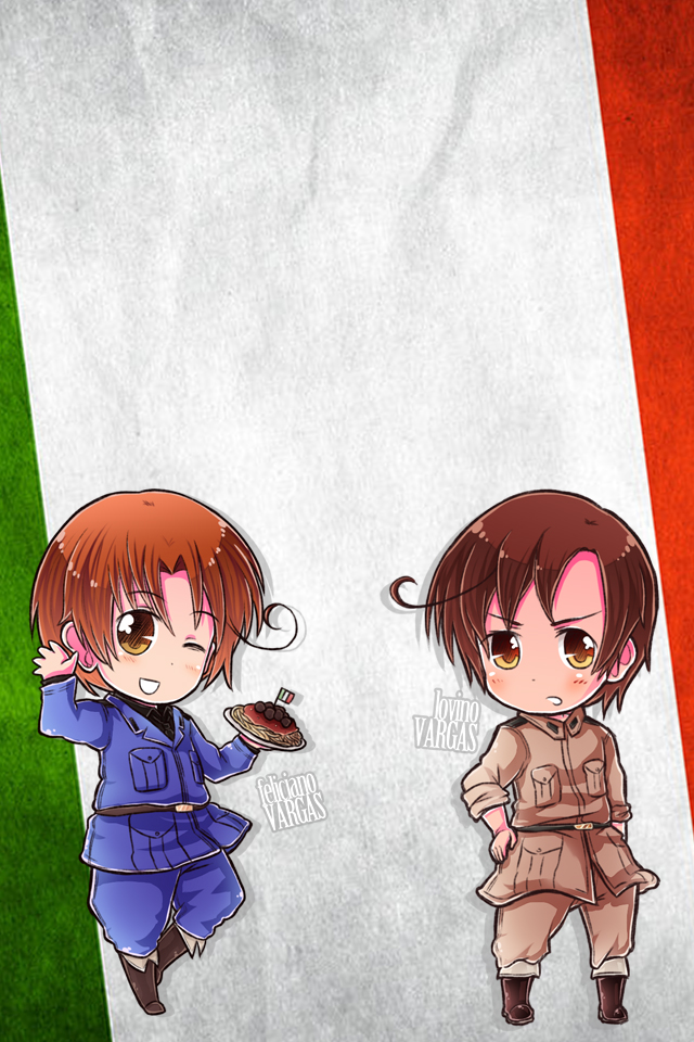 Hetalia iWallpapers   Italy and Romano by Dreamweaver38 on 640x960