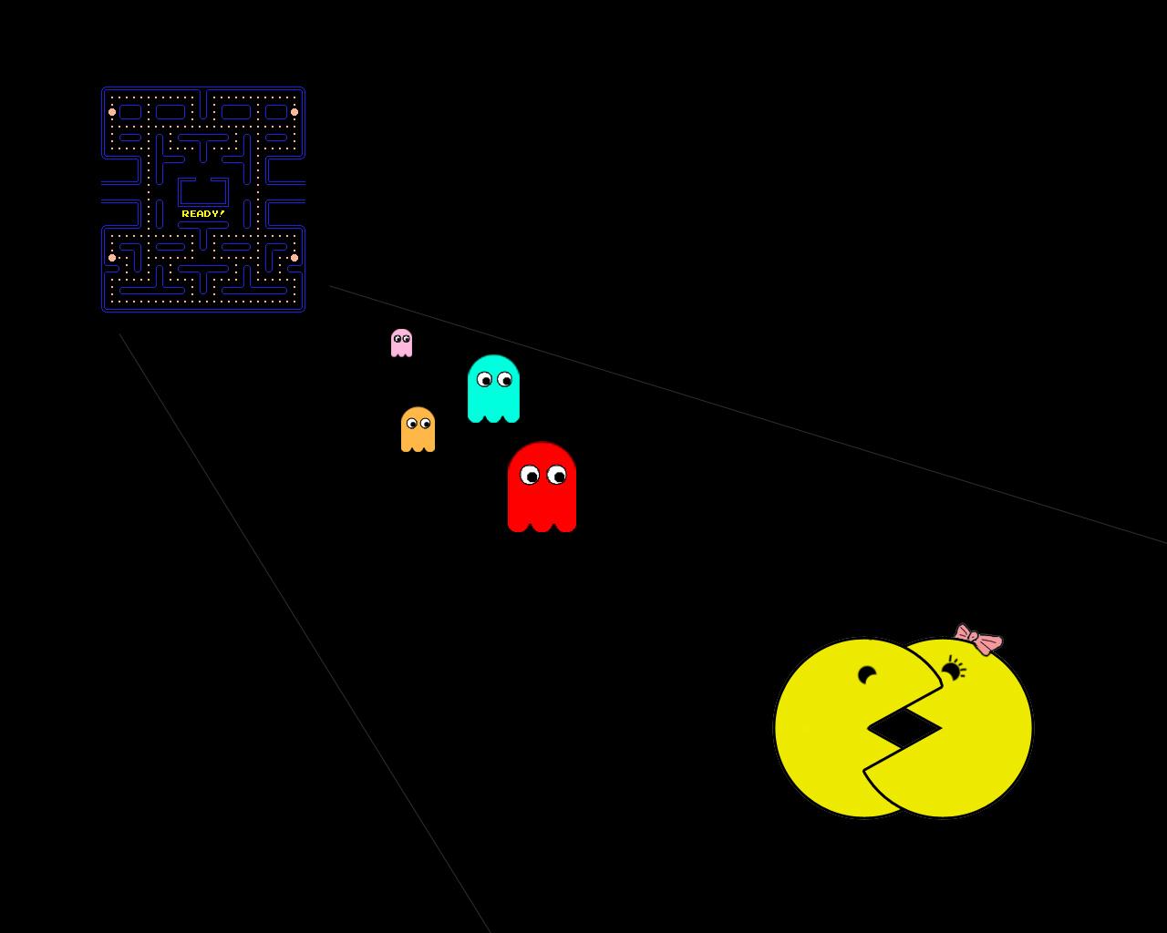 Pacman IPhone 6 Plus Wallpaper
