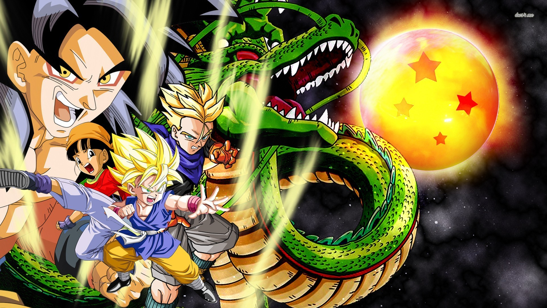 GT wallpaper 1280x800 Dragon Ball GT wallpaper 1366x768 Dragon Ball GT 1920x1080