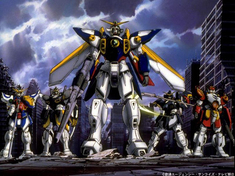 The Best Cartoon Wallpapers Gundam Wing Wallpaper Gallery 800x600