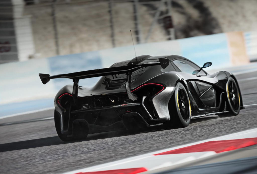 More Details On McLarens P1 GTR Video 1024x694