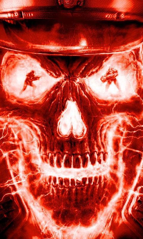Fire Skulls Liv 1mobilecom 480x800