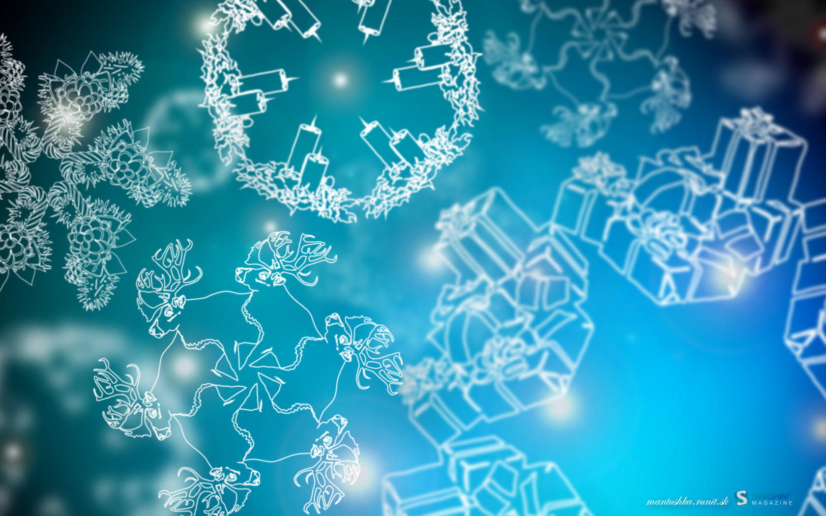 Christmas Snowflakes Wallpapers HD Wallpapers 1680x1050
