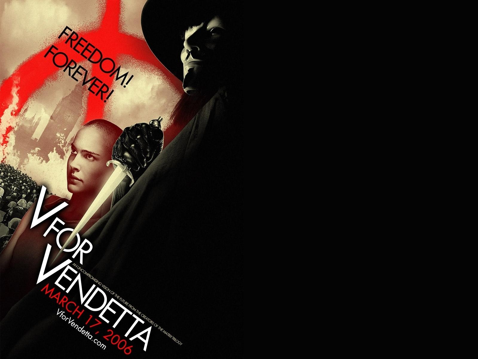 for Vendetta   V for Vendetta Wallpaper 16301749 1600x1200