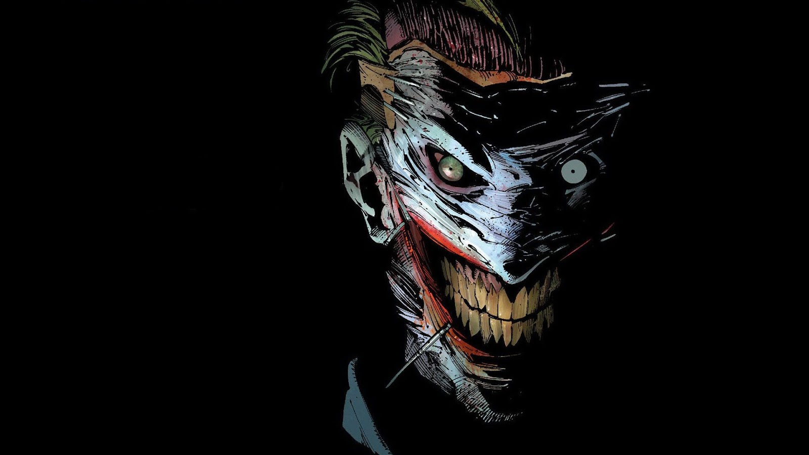 Download The Joker HD Wallpaper For Desktop and Mac 1600x900