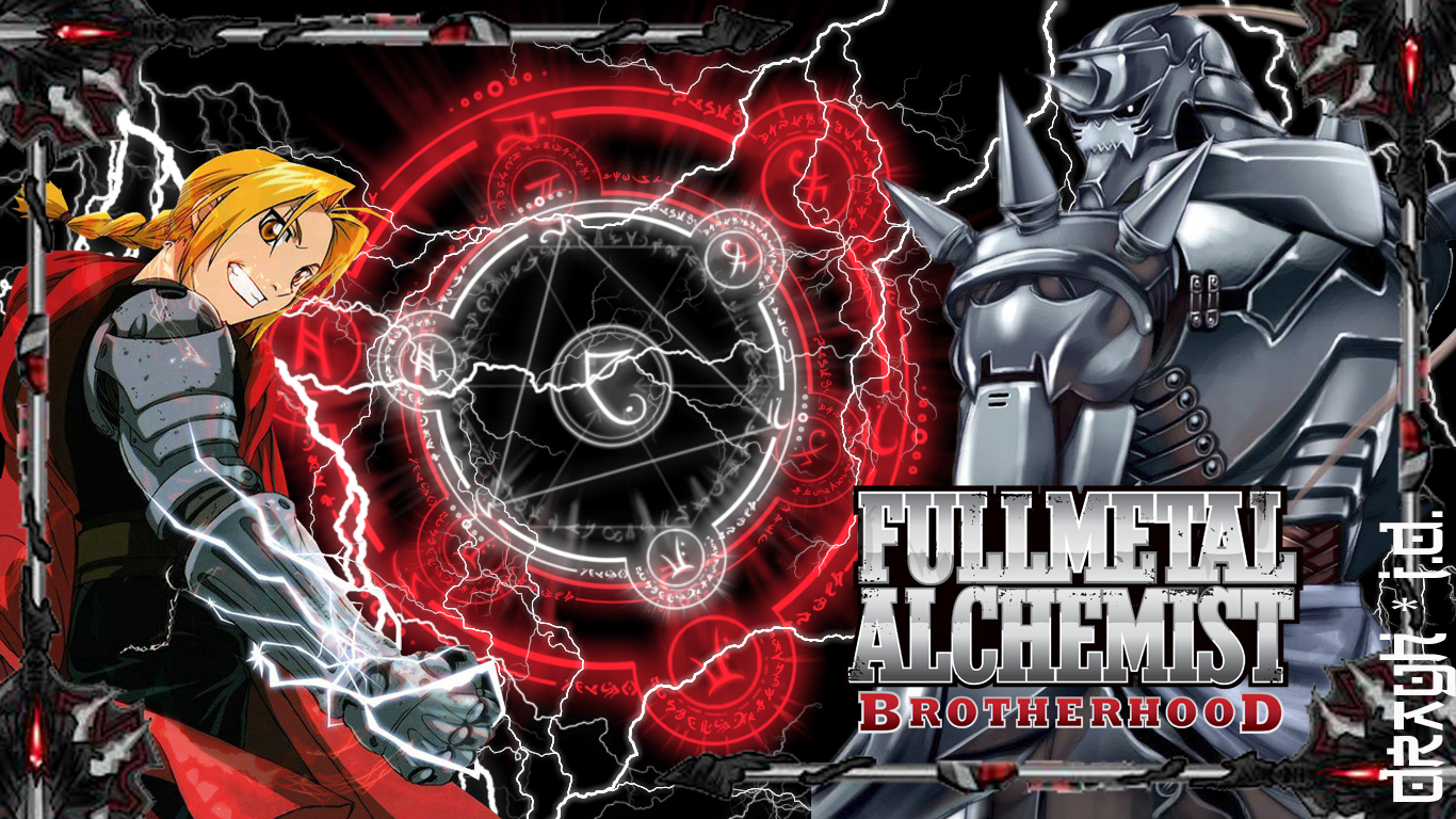 Fullmetal Alchemist Brotherhood Wallpaper Hd Fullmetal alch 1366x768