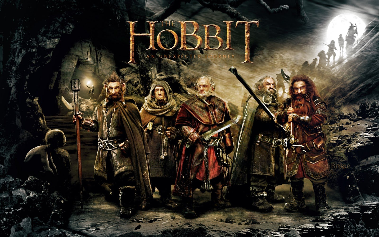 The Hobbit Movie Wallpaper Set 2 2013 Wallpaper 1600x1000
