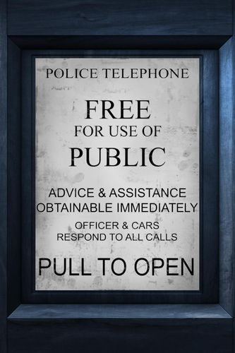 TARDIS Instruction wallpaper for iPhone 3G3GS 333x500