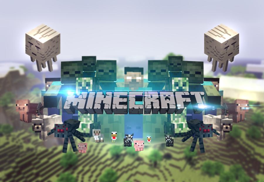 Minecraft wallpaper UPDATED by MikasDA 900x622