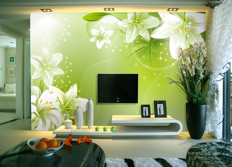 wallpaper green wallpaper bedroom in Wallpapers from Home Garden on 800x576