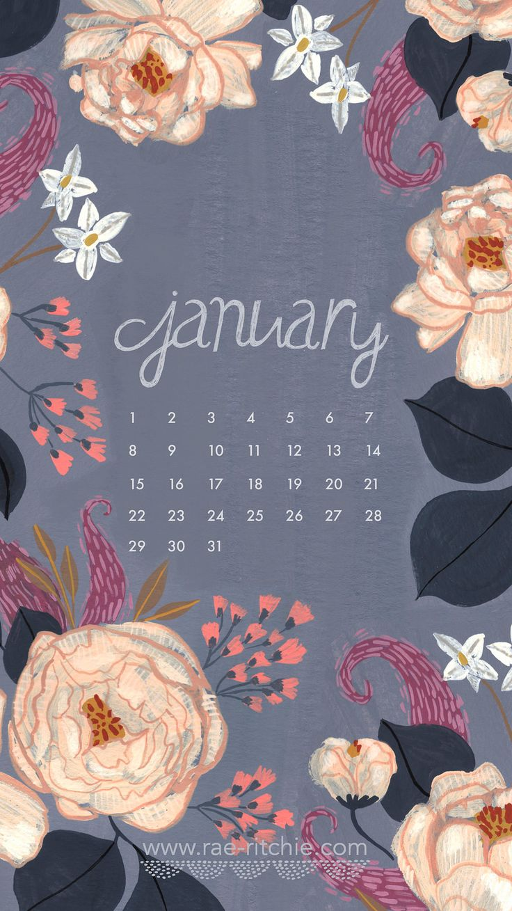 Cute January Calendar Wallpaper : January calendar wallpapers wallpapersafari