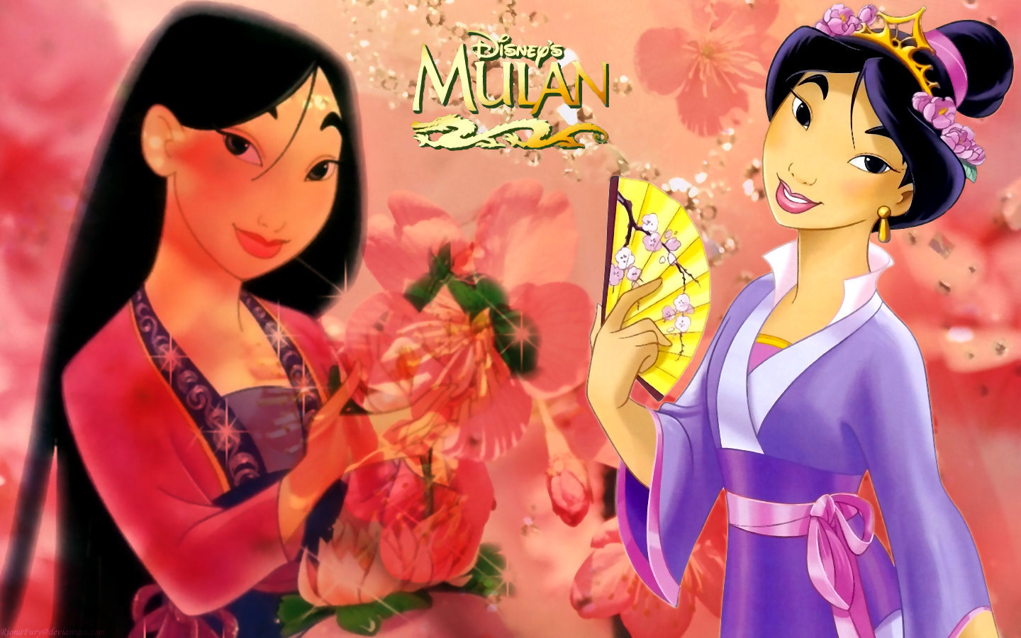 Mulan Disney Princess HD Wallpaper Background Images 1440x900