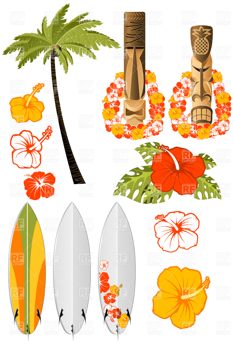 free clip art hawaiian christmas - photo #26