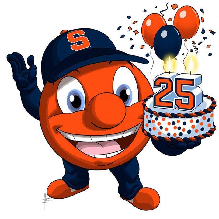 Syracuse University Happy 25th birthday to the worlds 720x720