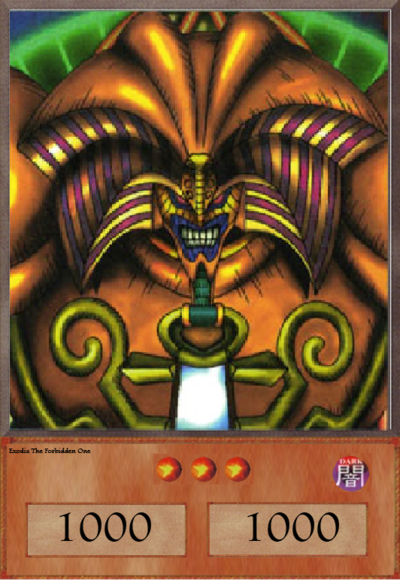 Yugioh Exodia The Forbidden One Wallpaper Exodia the forbidden one 400x580