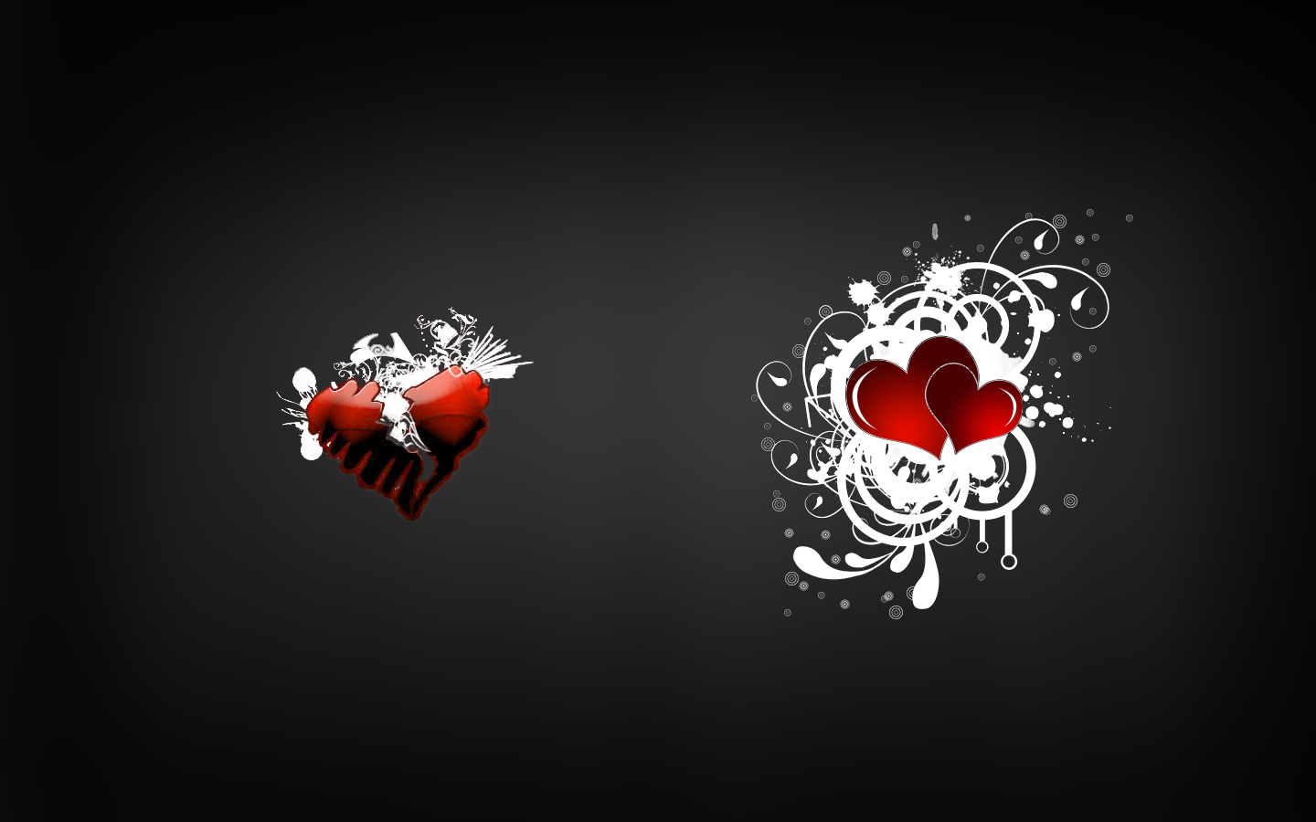 1440x900 Love Broken Heart desktop PC and Mac wallpaper 1440x900
