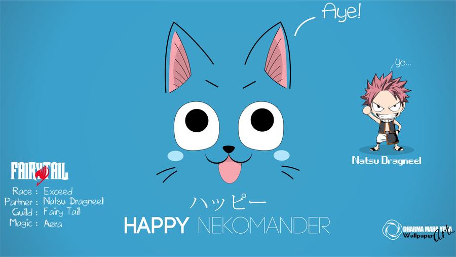 Fairy Tail Happy by mahayusa 900x507