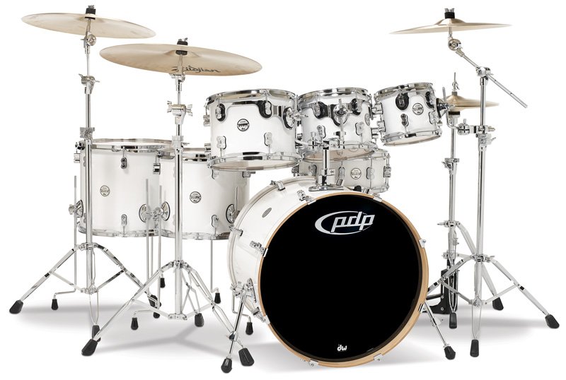 PDP Kits   Pacific Drums and Percussion Concept Maple CM7 shown 800x538