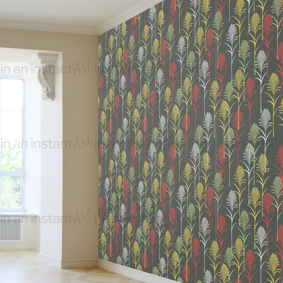 and Stick Wallpaper Palm Leaf Peel and Stick Wallpaper Removable 570x570