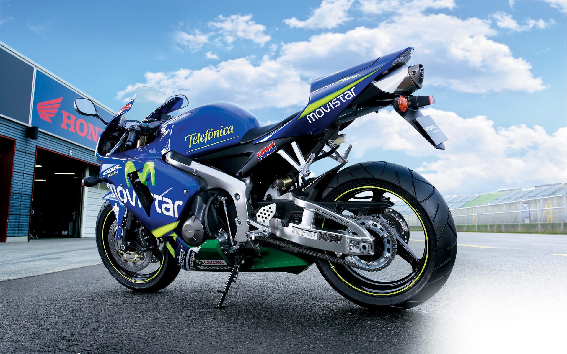 Honda CBR 600rr Movistar wallpaper 1920x1200 15667 1920x1200