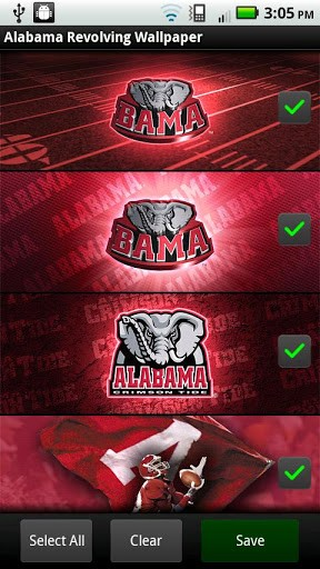 View bigger   Alabama Revolving Wallpaper for Android screenshot 288x512