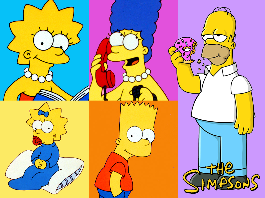 Wallpapers De Vart Simpsons Images FemaleCelebrity 1024x768