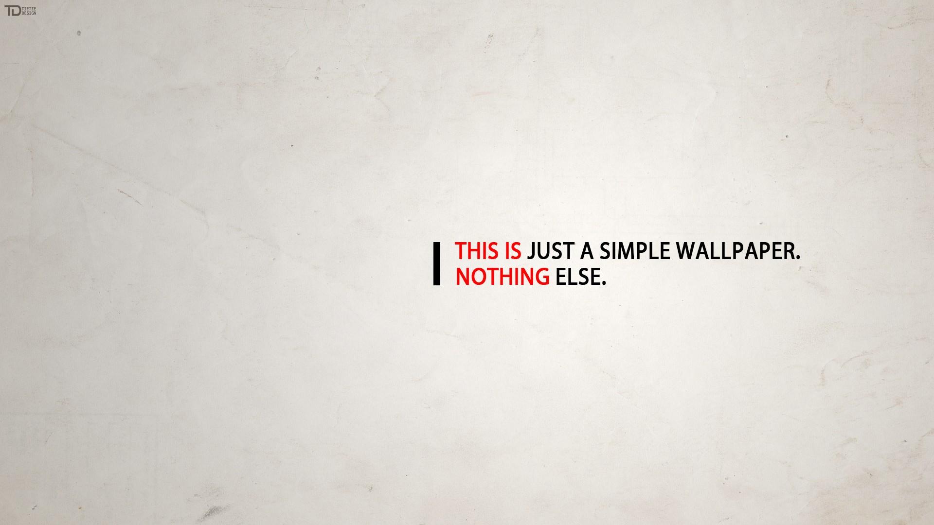 Just A Simple Wallpaper HD Wallpaper FullHDWpp   Full HD Wallpapers 1920x1080