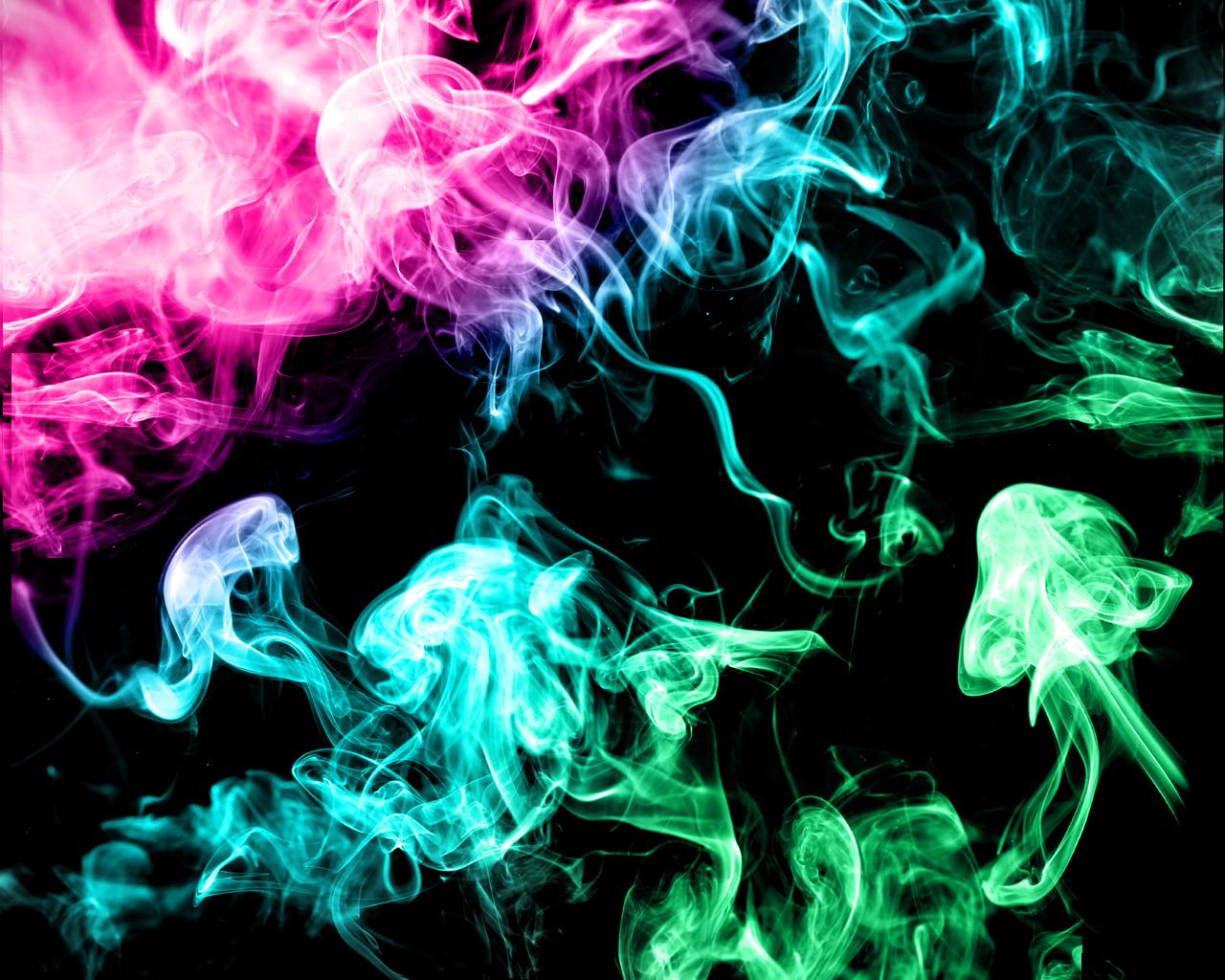 Colorful Smoke HD Wallpapers 1280x1024