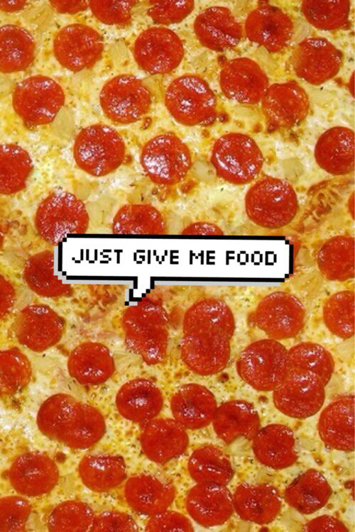 Pizza is my boyfriend   image 2576111 by saaabrina on 500x750