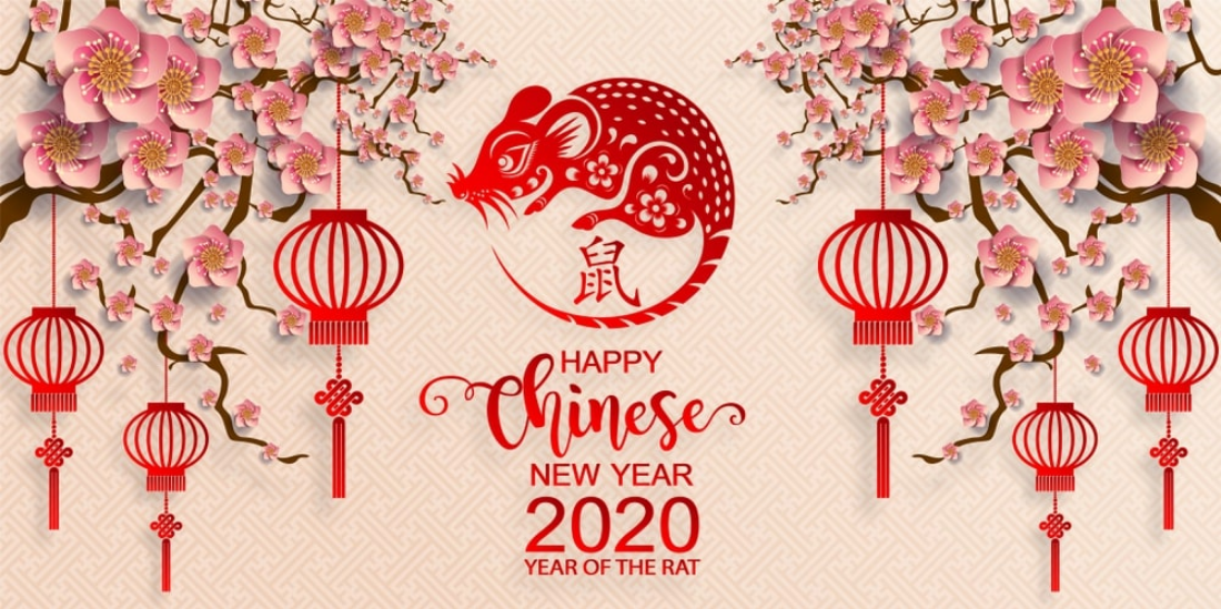 Chinese New Year 2020 Singapore New Year 2020 Hd Wallpaper 1100x549