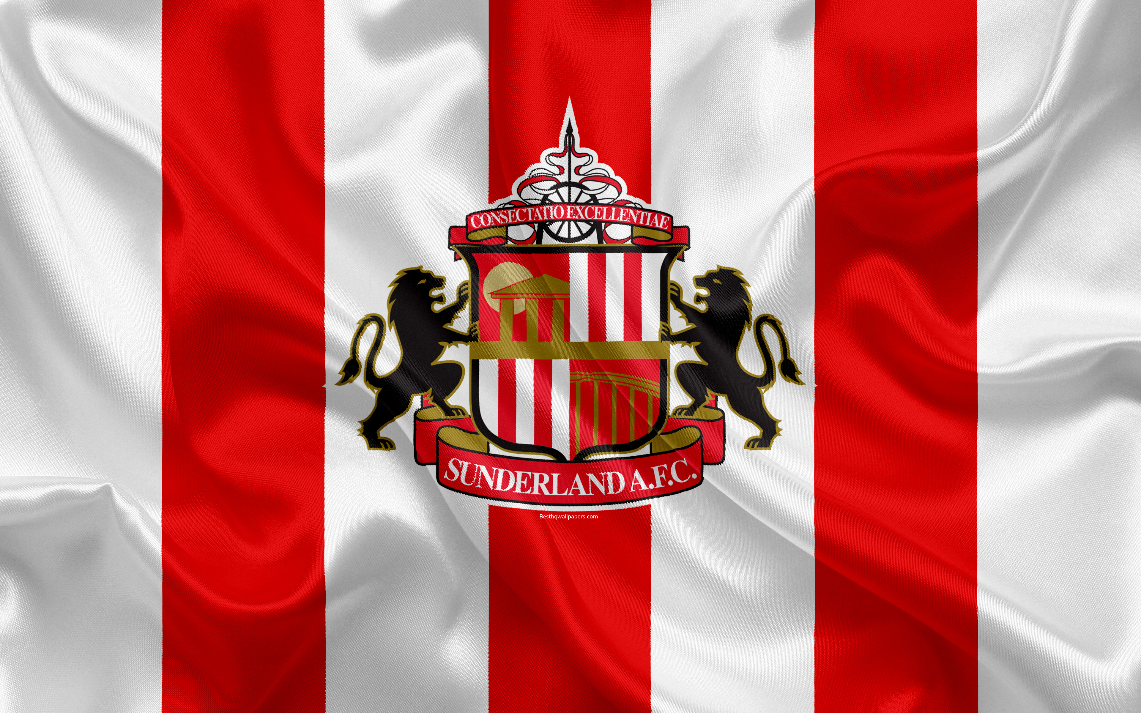 Download wallpapers Sunderland FC Football League Championship 3840x2400