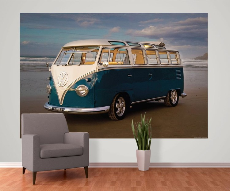 VW Volkswagen   Camper Wall Mural Buy at EuroPosters 750x625