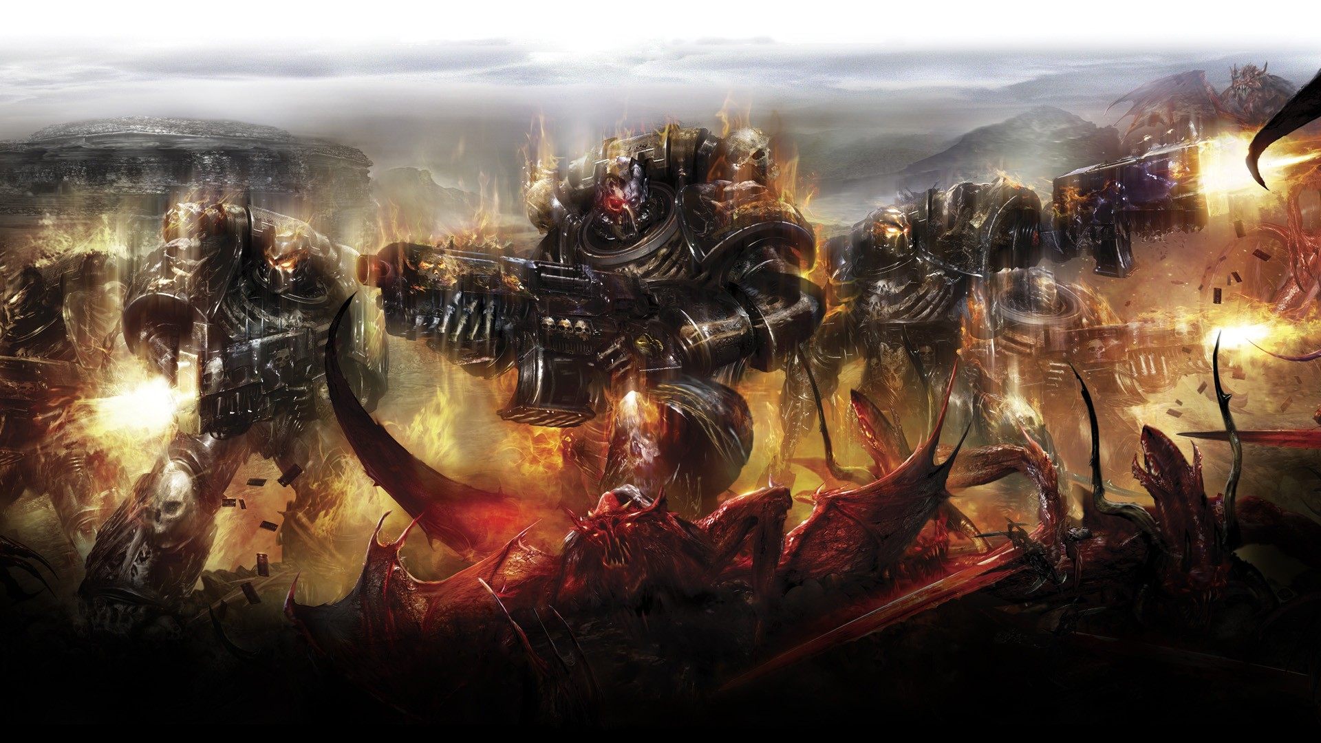 Warhammer 40K Wallpaper 1920x1080 Warhammer 40K Chaos Space Marine 1920x1080
