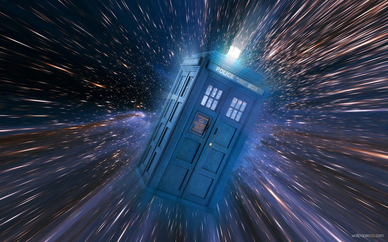 Time Travel In Phone Booth Widescreen Wallpaper Wallpaper 1280x800