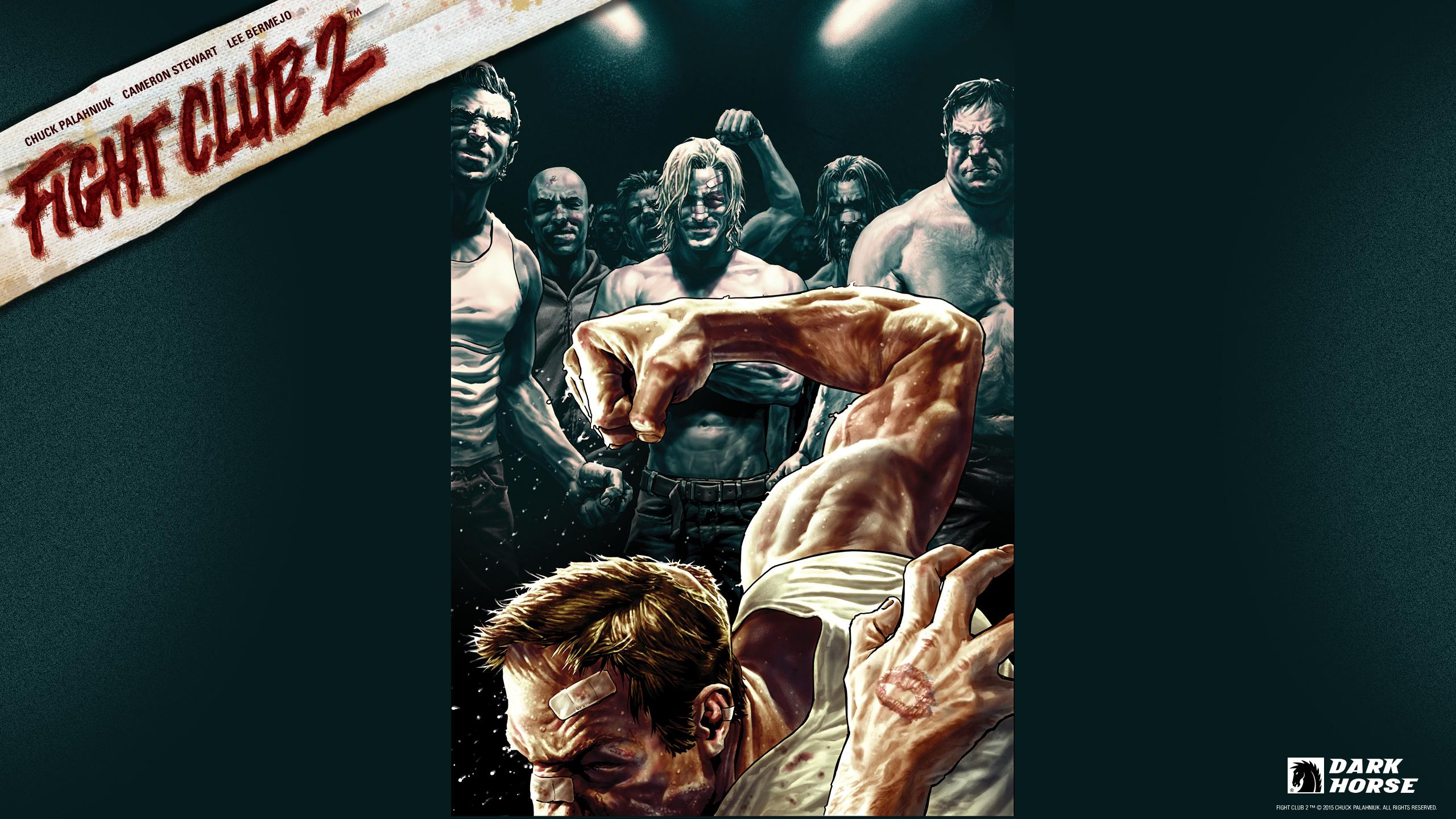 Fight Club 2 Desktops Dark Horse Comics 2560x1440