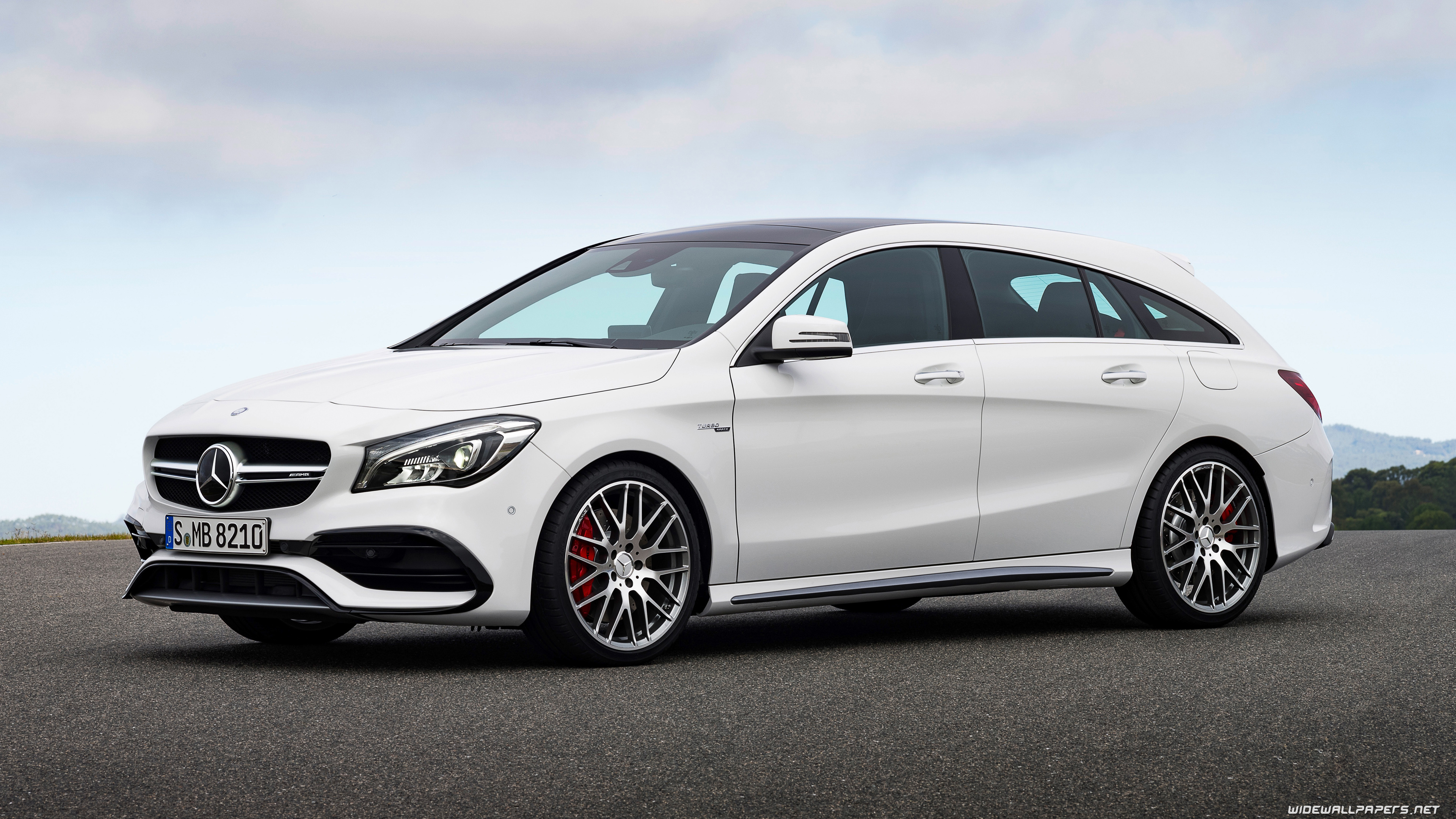 Mercedes amg Cla   Cls Shooting Brake Amg 2017 Hd Wallpapers 3840x2160