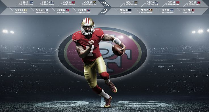 Colin Kaepernick desktop wallpaper with 2013 49ers 736x395