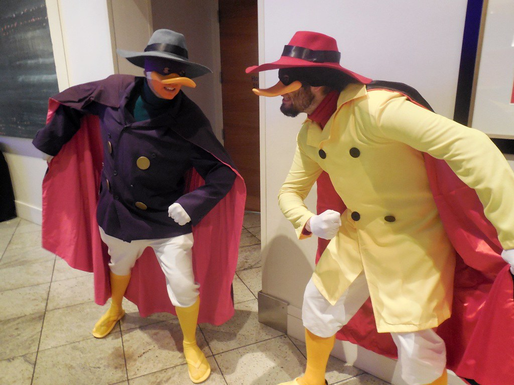 Darkwing Negaduck Wrath of Con Pics Flickr 1024x768