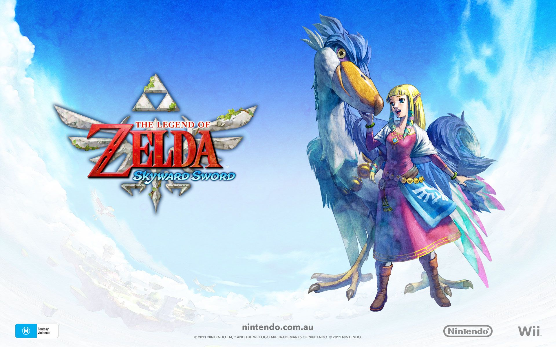 Free Download Wallpapers For Legend Of Zelda Skyward Sword