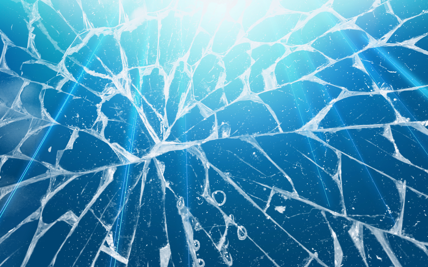 45 Realistic Cracked and Broken Screen Wallpapers 1680x1050