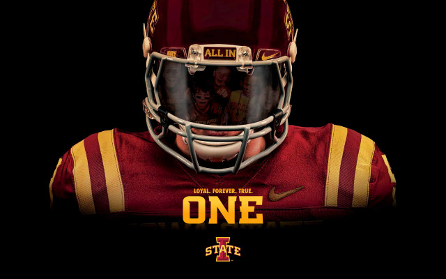 Download Football Poster As Desktop Wallpaper   Iowa State University 640x400