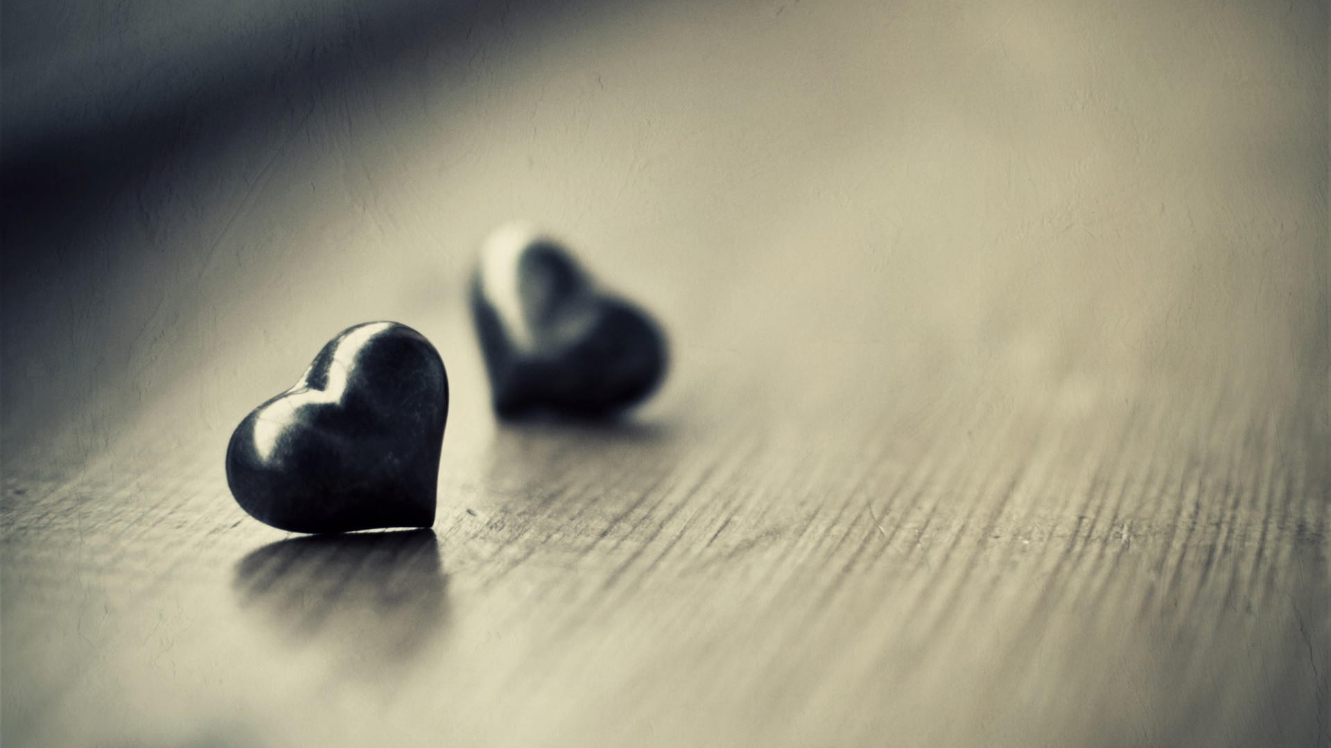 Valentine Heart Pictures Black And White HD Wallpaper 1920x1079