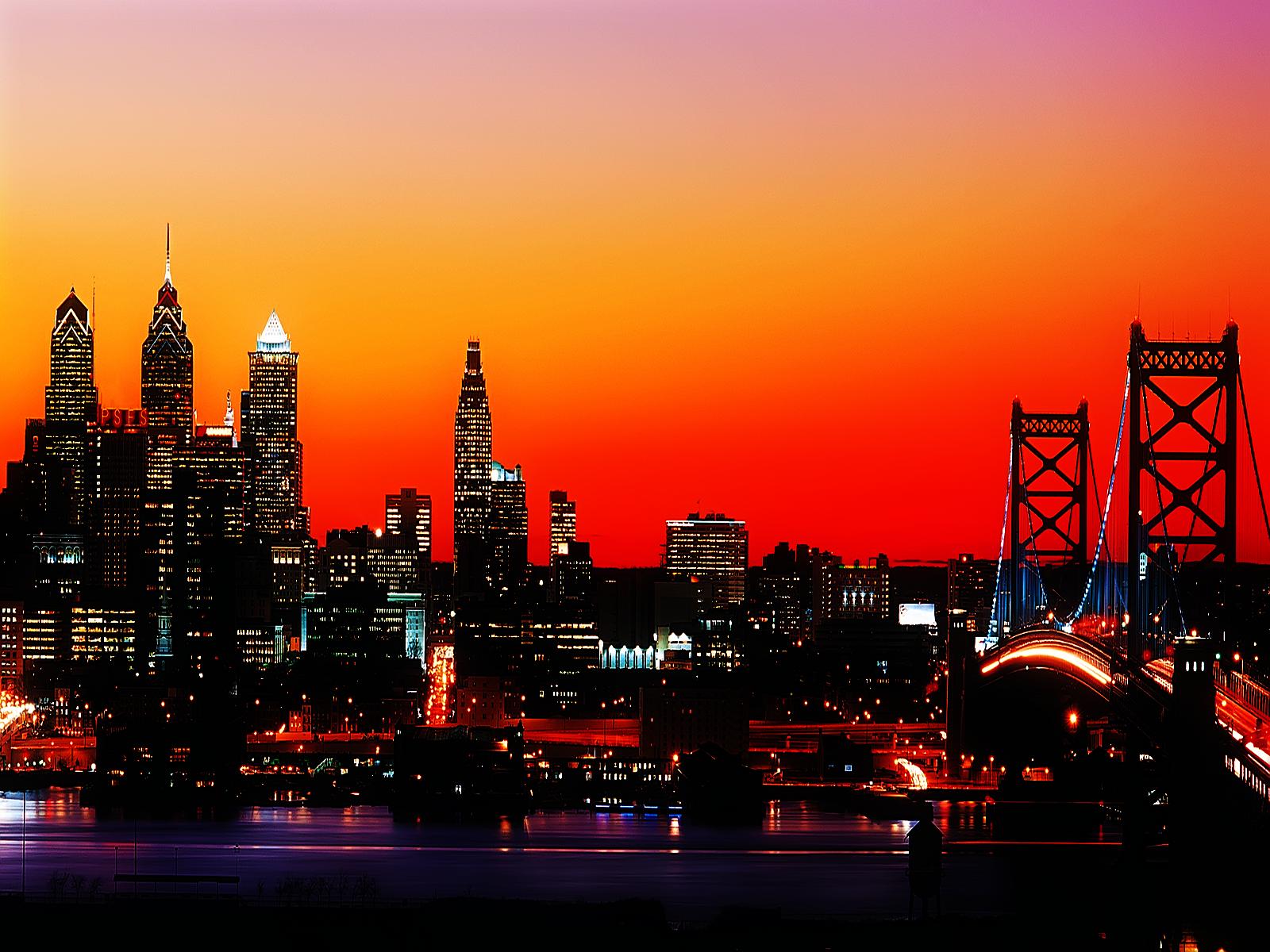 Philadelphia City Skyline wallpaper The Plutocracy is Good 1600x1200