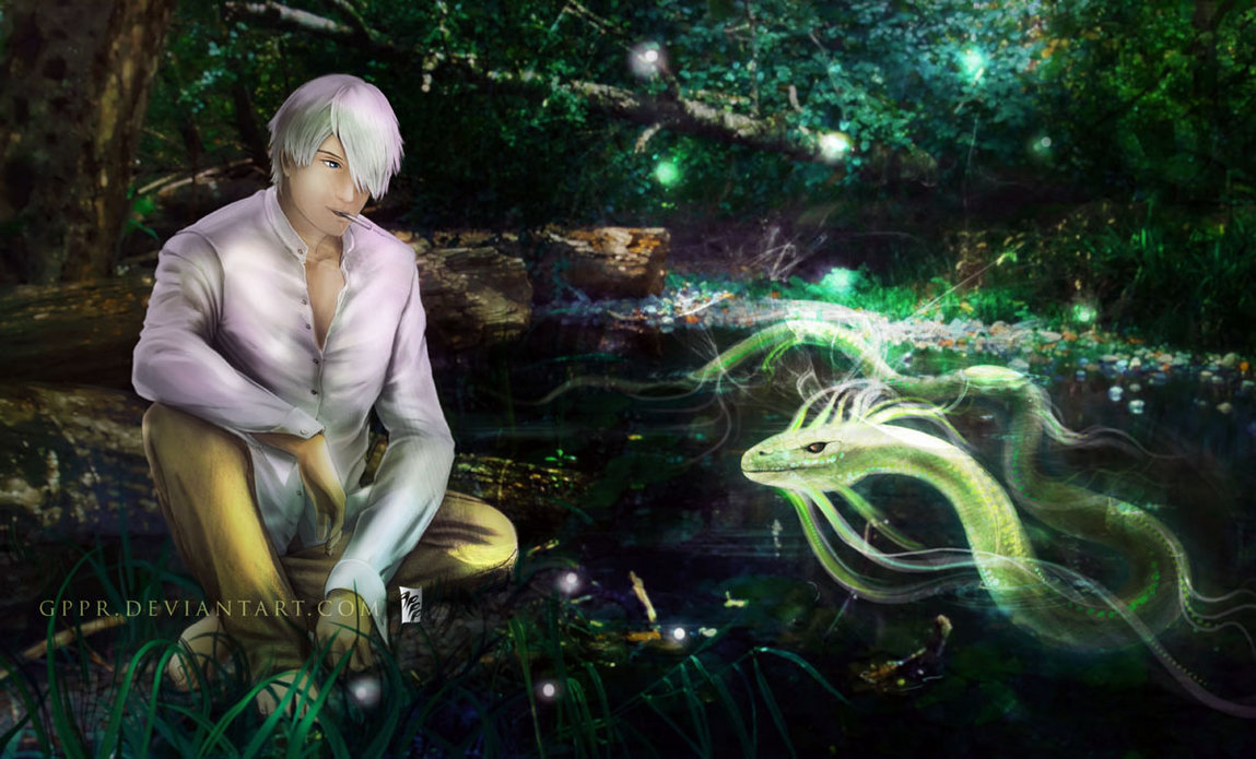 Ginko Mushishi 19 Desktop Wallpaper   Hivewallpapercom 1149x695