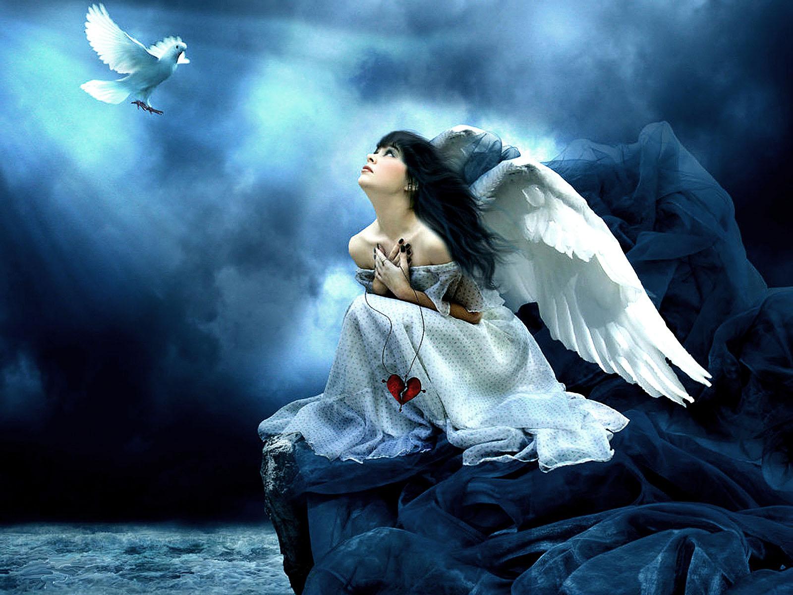 Best desktop pictures angel wallpapers hd angel wallpaper image 35jpg 1600x1200